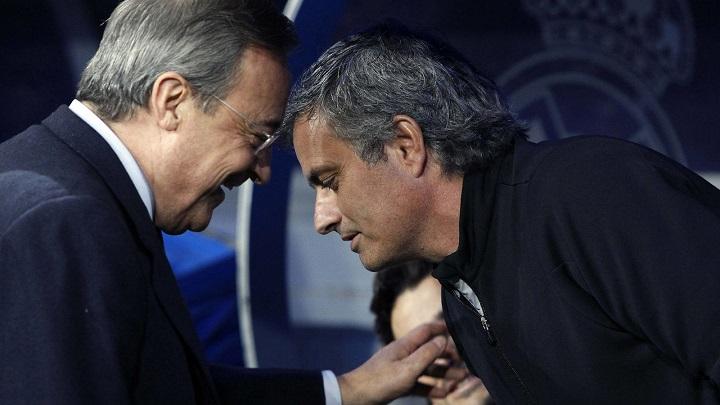 Mourinho y Florentino