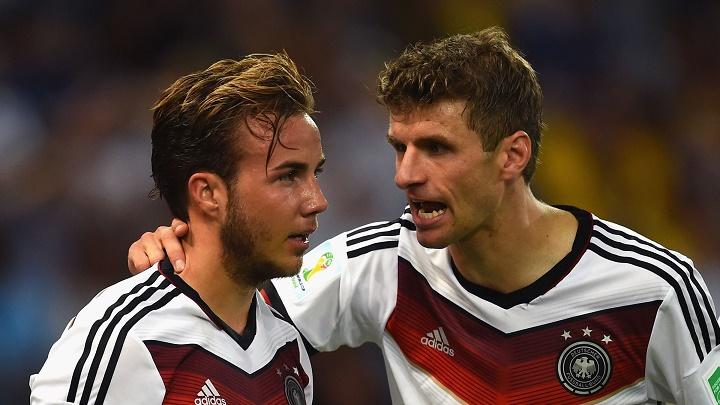 Muller y Gotze
