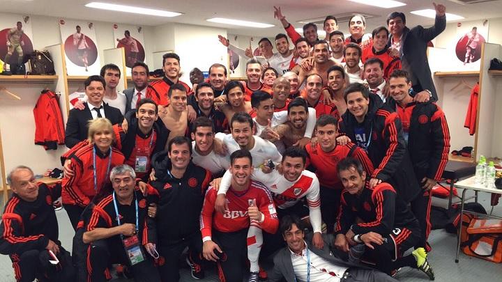 River Plate celebracion