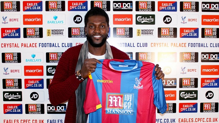 Adebayor Crystal Palace