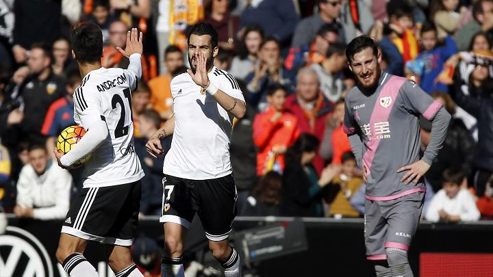 Álvaro Negredo gol ante el Rayo