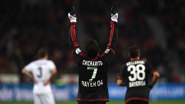 Chicharito Hernandez Bayer Leverkusen
