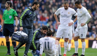 Gareth Bale lesionado