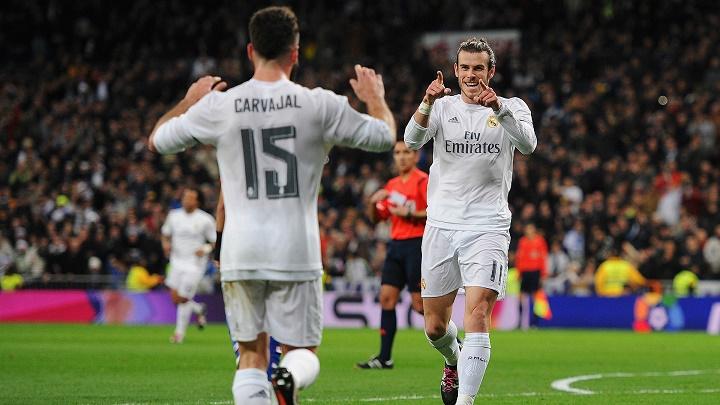 Gareth Bale y Dani Carvajal