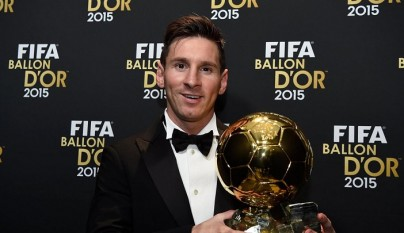 Leo Messi Balon de Oro