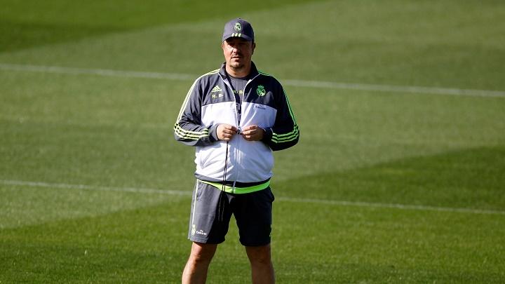 Rafa Benítez entrenamiento Madrid