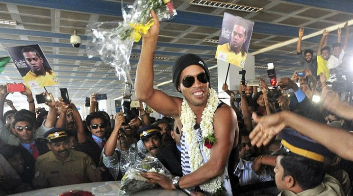Ronaldinho en la India