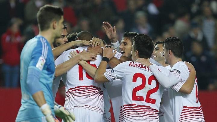 Sevilla Mirandes gol