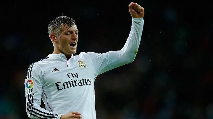 Toni Kroos celebrando un gol