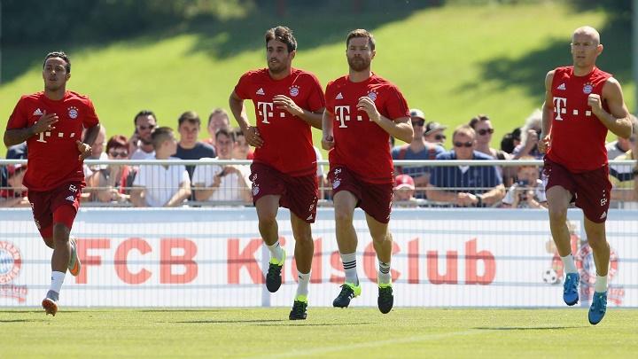entrenamiento Bayern de Munich