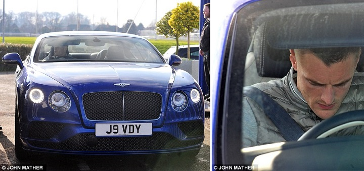 Bentley Jamie Vardy 1