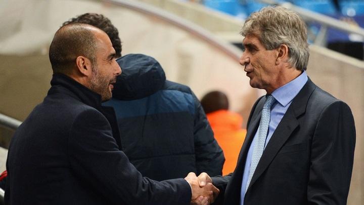 Guardiola y Pellegrini