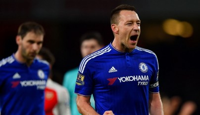 John Terry celebrando un gol