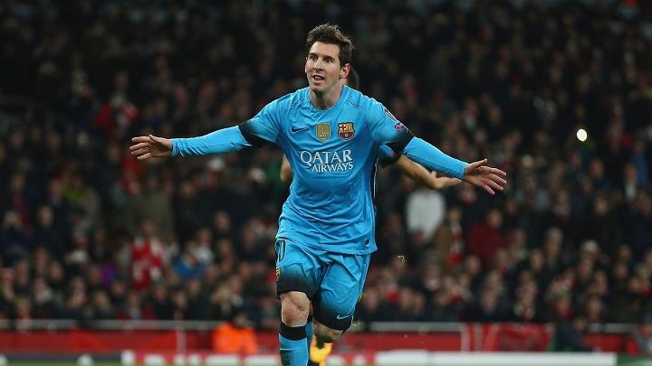 Leo Messi gol