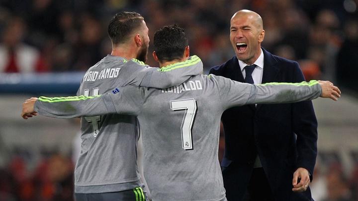 Ronaldo Ramos y Zidane