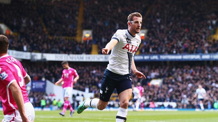 Harry Kane celebrando un gol