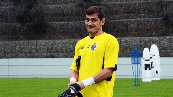 Iker Casillas Oporto