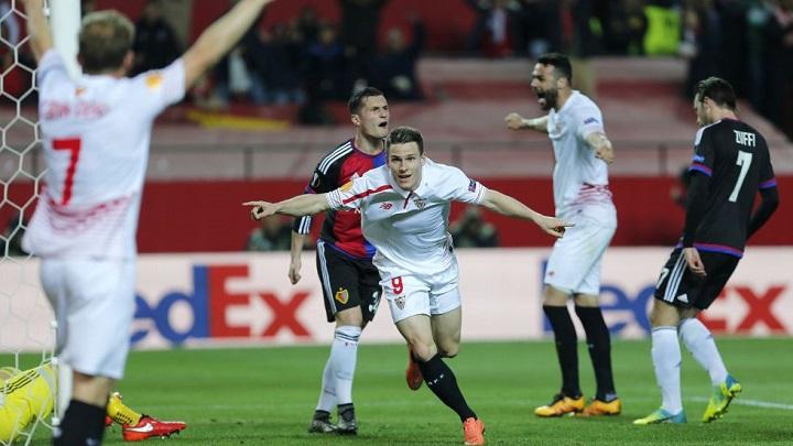 Kevin Gameiro celebrando un gol