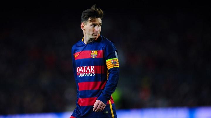 Leo Messi Barcelona capitan