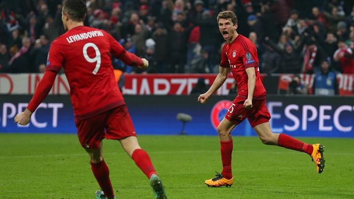 Muller y Lewandowski