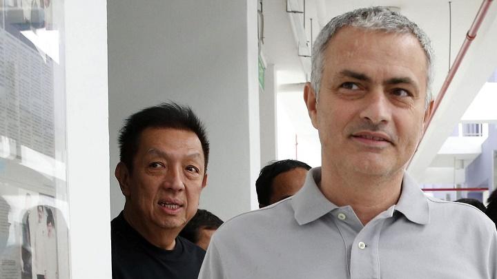 Peter Lim y Mourinho