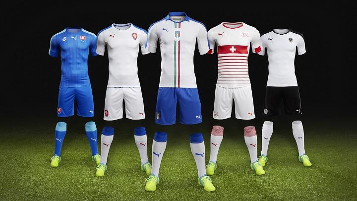 equipaciones Puma Eurocopa 2016