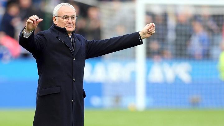 Claudio Ranieri feliz