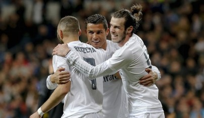 Cristiano Bale y Benzema