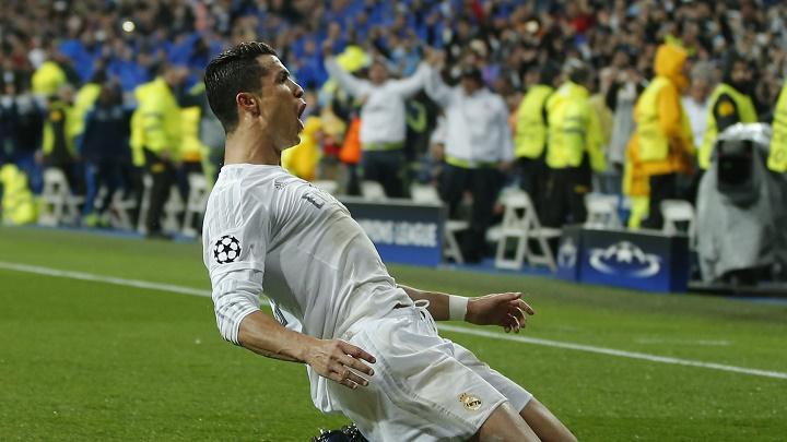 Cristiano Ronaldo celebración