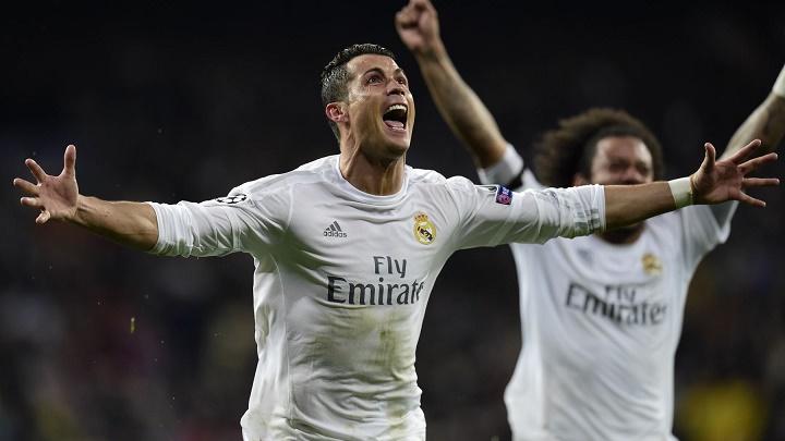 Cristiano Ronaldo celebrando el 3-0