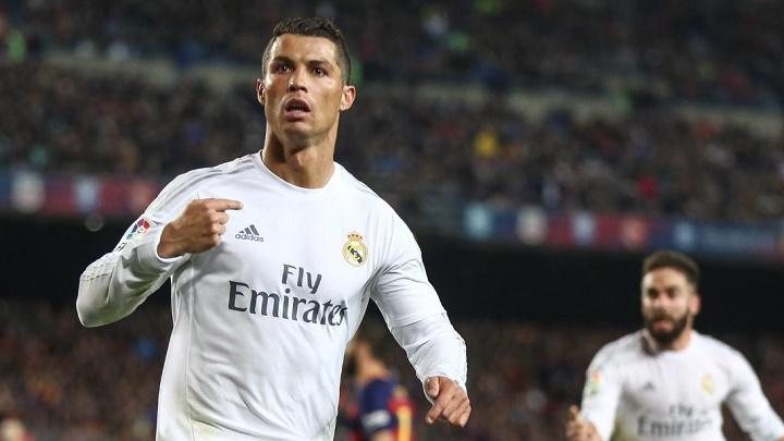 Cristiano Ronaldo gol en el Camp Nou
