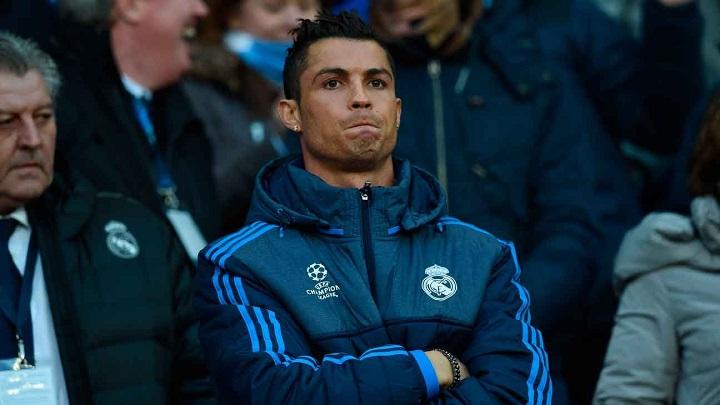 Cristiano Ronaldo suplente