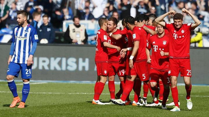 Hertha Bayern