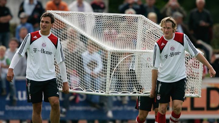 Hummels entrenamiento Bayern