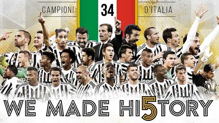 Juventus campeones Italia