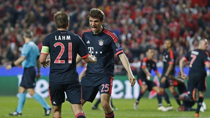 Lahm y Muller