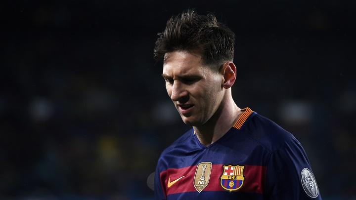 Leo Messi preocupado