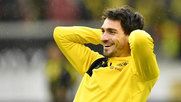 Mats Hummels entrenamiento Dortmund