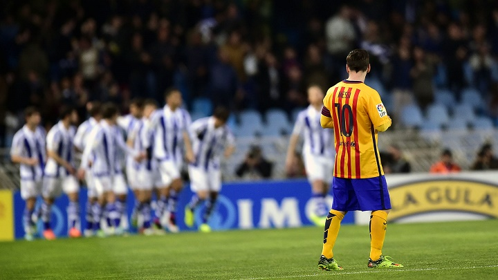 Messi Real Sociedad