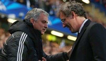 Mourinho y Blanc