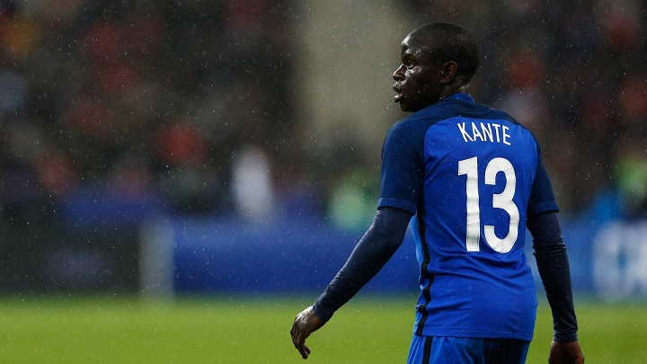 Ngolo Kante seleccion francesa