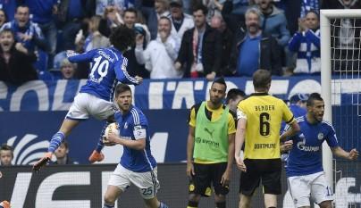 Leroy Sané celebrando un gol
