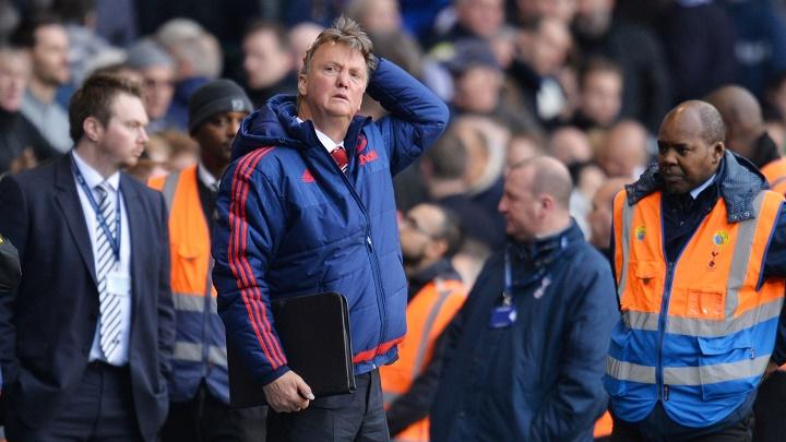 Van Gaal preocupado