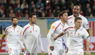 jugadores del Sevilla