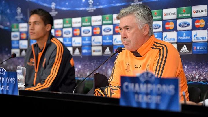 Ancelotti y Varane