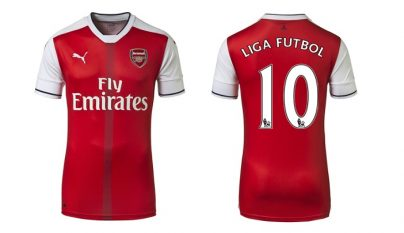 Arsenal camiseta 2015-2016