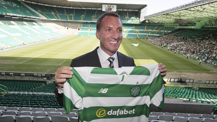Brendan Rodgers Celtic de Glasgow