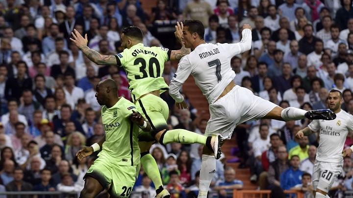 Cristiano Ronaldo y Nicolas Otamendi