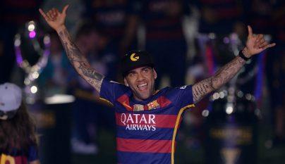 Dani Alves celebracion