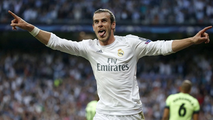 Gareth Bale celebrando un gol